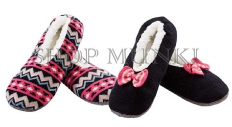 sherpa lined cozies slippers k bell s cozy comfortable sherpa lined 2 pack