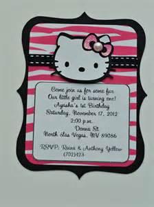 hello black and pink zebra birthday invitations and name banner jingvitations