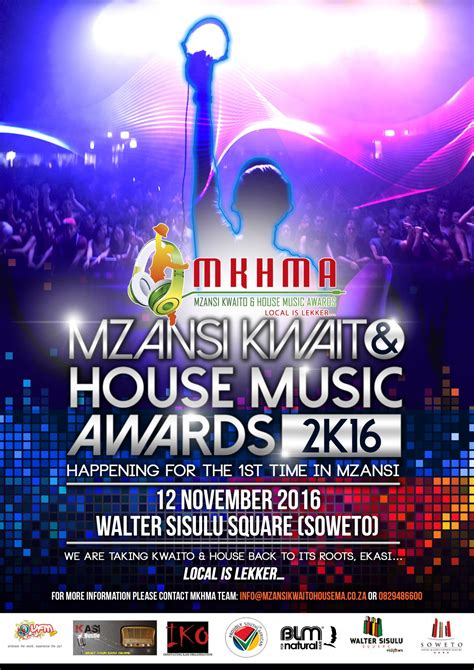 kwaito house music home mzansi kwaito house music awards