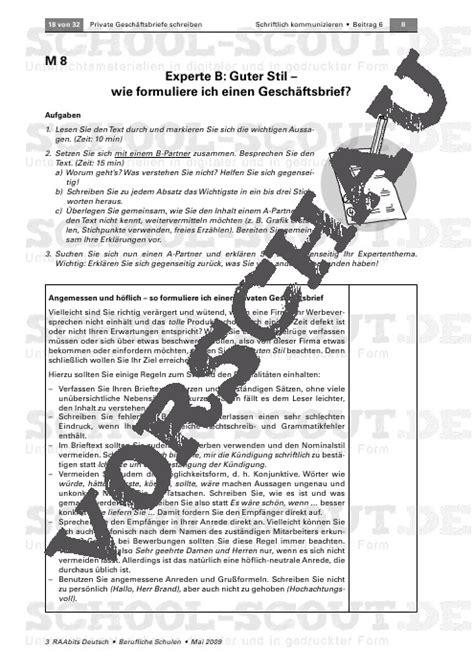 Beschwerdebrief Unterrichtsmaterial schon wieder 196 rger im urlaub unterrichtsmaterial und