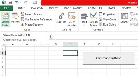 tutorial visual basic application excel tutorial variables in microsoft excel visual basic