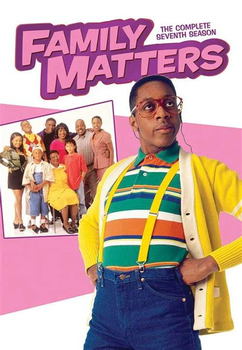 family matters family matters dvd news announcement for the complete 7th