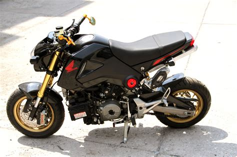 honda grom honda grom with a ducati 1199 panigale r engine engine