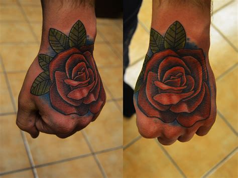 amazing rose tattoos images designs
