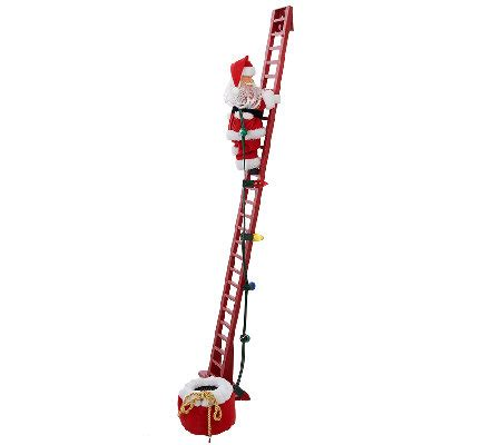 mr christmas animated and musical stepping santa