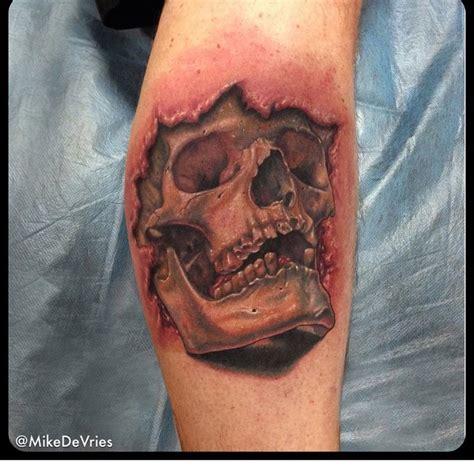 tattoo 3d on arm 3d arm tattoo skull best tattoo ideas gallery