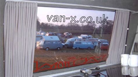 van window curtains vw t4 t5 side window curtains curtains youtube