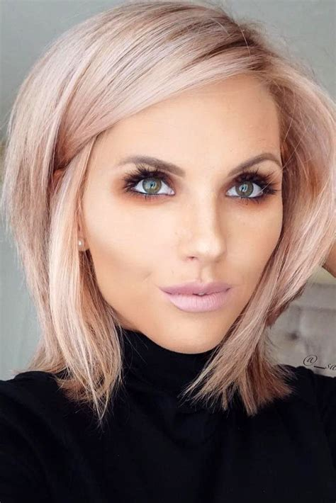 hairstyles for blunt haircut haircuts trends 2017 2018 chic blunt bob hairstyles