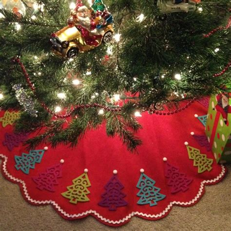 target christmas tree skirt 1000 images about tree skirts on