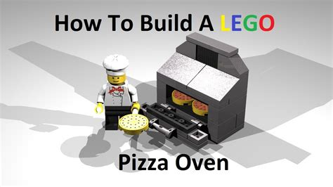 how to build a shop how to build a lego pizza oven custom moc instructions