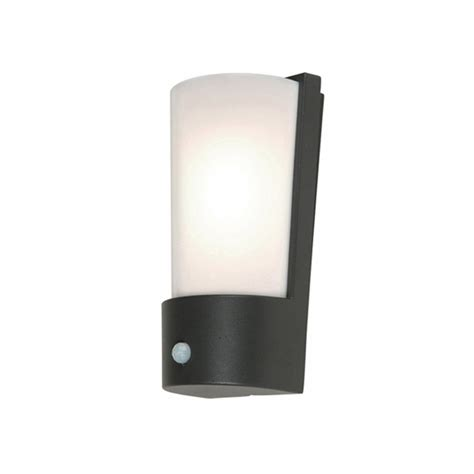 Outdoor Lighting With Pir Elstead Lighting Azure Low Energy 7 Grey Outdoor Wall Light Pir