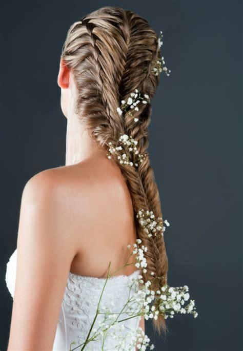 Hochzeitsfrisur Accessoires by Brautfrisuren Mit Blumen Der Nat 252 Rliche Haarschmuck F 252 R
