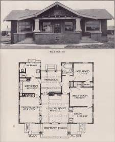 craftsman bungalow house plans 1930s house plans home