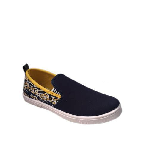 evok navy slip on shoes price in india buy evok navy slip