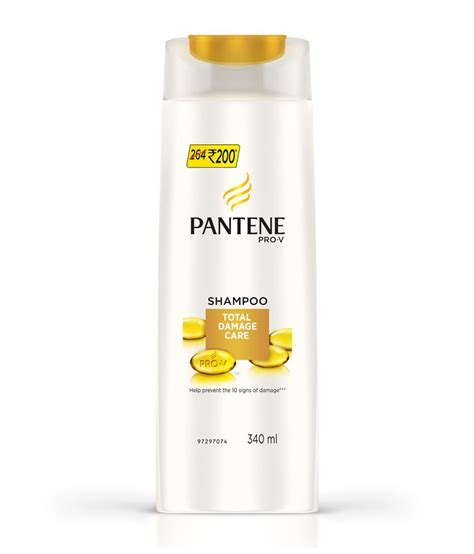 Harga Pantene Shoo Total Damage Care pantene total damage care shoo 340 ml buy pantene