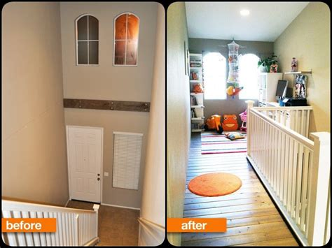 before after from ceiling space to playroom from before after from ceiling space to playroom