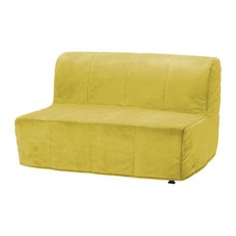 yellow sofa cover lycksele two seat sofa bed cover hen 229 n yellow ikea