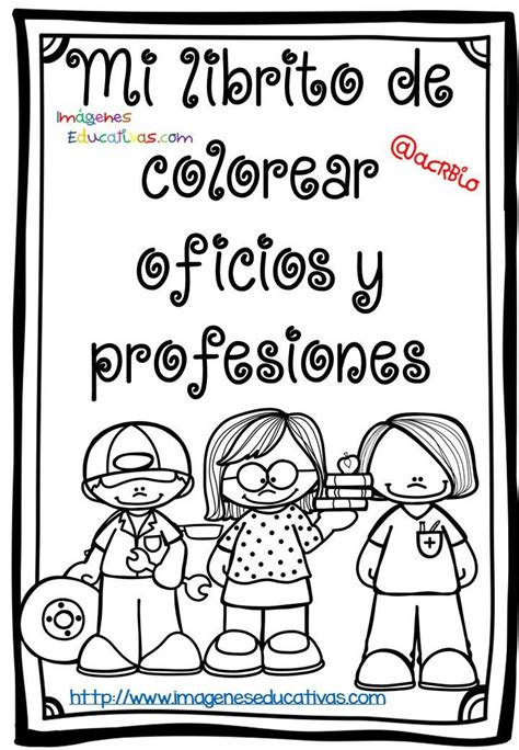 imagenes educativas para imprimir y colorear mi librito de colorear oficios y profesiones communities