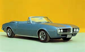 1967 Pontiac Firebird Convertible Car And Driver