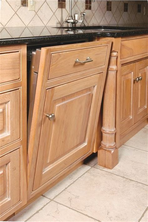 Dishwasher Cabinet Panel by Dishwasher Panel With False Door And Drawer Traditional