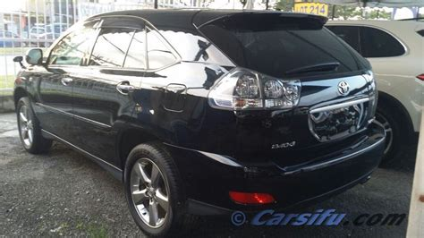 2010 toyota harrier black for toyota harrier 2 4 premium l for sale in klang valley by