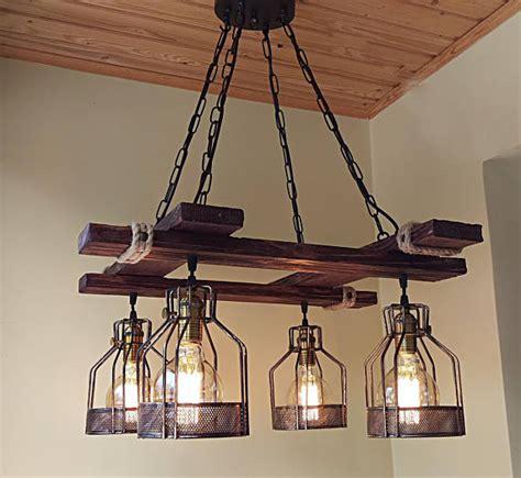 diy rustic ceiling light fixtures rustic light fixture bigdiyideas com