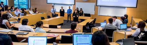 Mba Class Requirements by Uci Paul Merage School Of Business