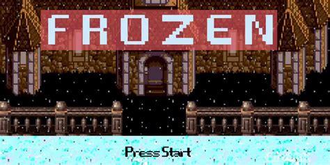 permainan membuat rumah frozen ketika frozen dipermak jadi game petualangan jadul