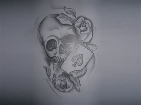 skull spade tattoo designs 10 ace sles designs and ideas