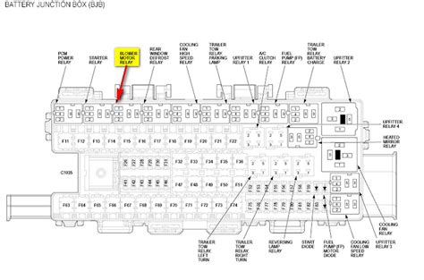 2010 ford f150 fuse panel diagram the blower motor on my 2010 f150 is not working at