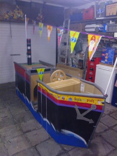 zeilboot surprise sinterklaas huishoek stoomboot waar kleuters in kunnen spelen