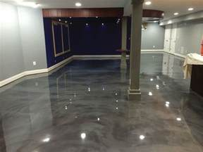 how to epoxy a basement floor concrete enhancement how to warm and brighten those cold