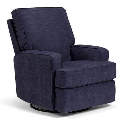 Kersey Upholstered Swivel Glider Recliner Best Chairs Kersey Upholstered Swivel Glider Recliner Denim Chairs Plush And Babies R Us