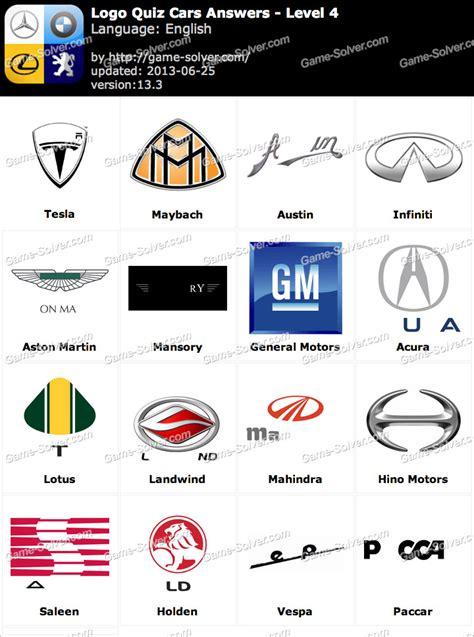Auto Logo Quiz by Logo Quiz 2 Answers Automotive Www Imgkid The