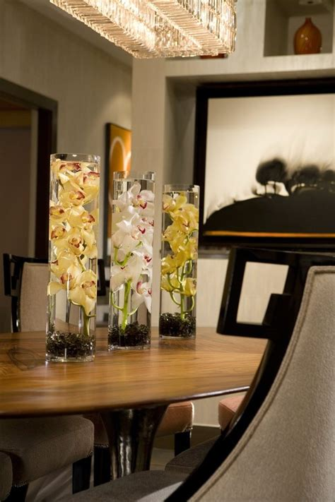 Summer centerpieces dining room contemporary with orange county specialty contractors