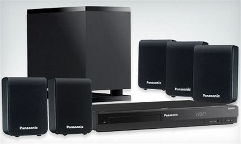 115 for a panasonic home theater system groupon