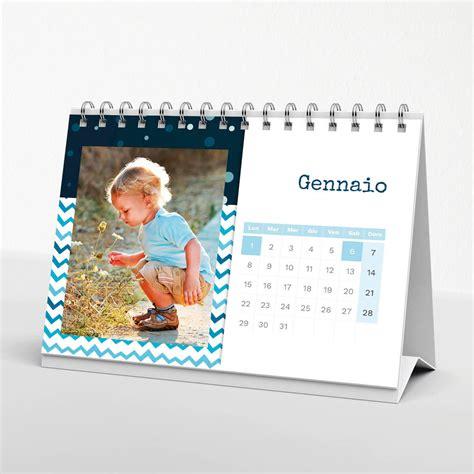 calendario da tavolo con foto calendario da tavolo blue 21x15 cm il fotoalbum
