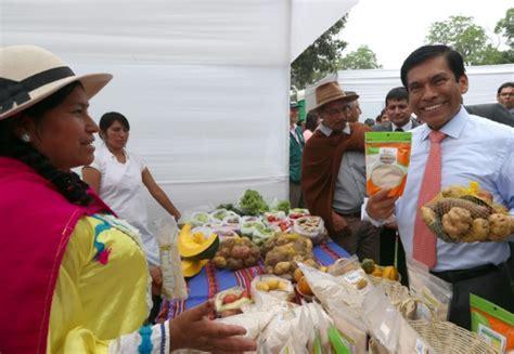 ingresos exentos para agricultores minagri busca crecimiento y mayores ingresos para peque 241 os