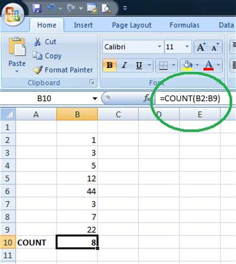 count cell colour excel 2007