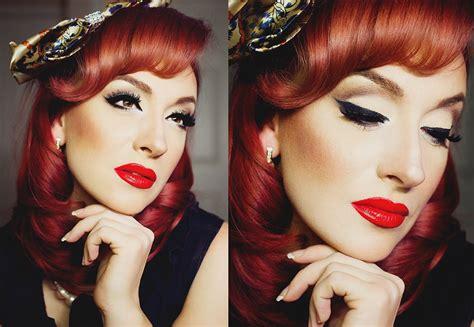 pin up makeup tutorial how pin up makeup tutorial with tricks