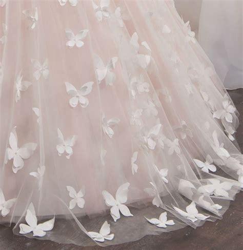 Hochzeitskleider Mädchen by Pinkvanille Ch Brautjungfernkleid Schmetterlinge