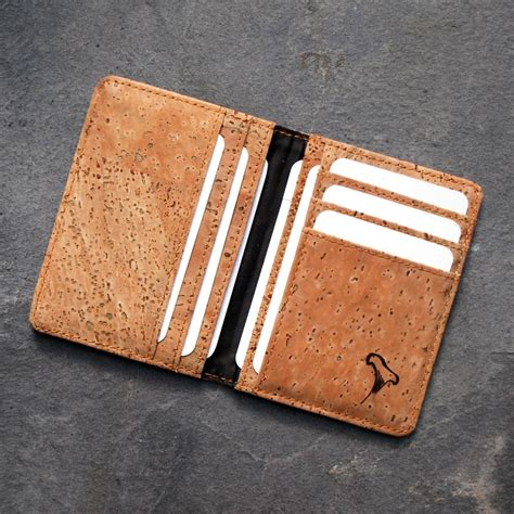 s cork card holder wallet by espresso company
