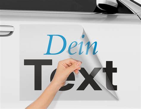 Folienbeschriftung Selbst Gestalten by Autobeschriftung Online Selbst Gestalten