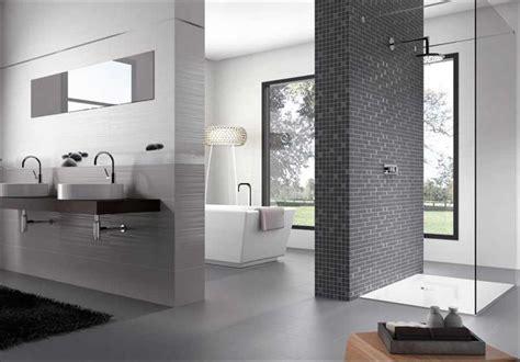 fliesen für das bad dunkel badezimmer design