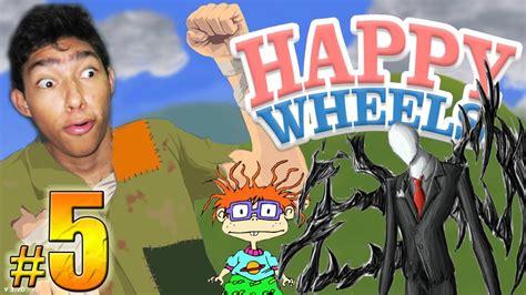 ilusiones opticas happy wheels fernanfloo happy wheels episodio 5 slenderman carlitos y mucha