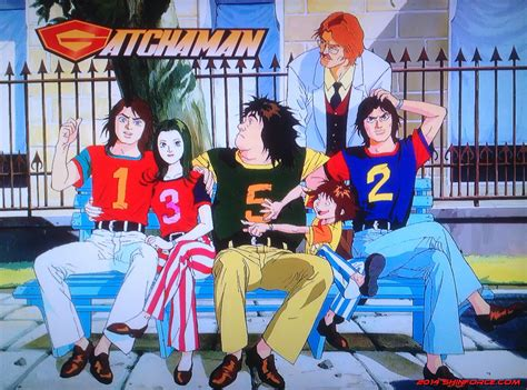 Anime G by Gatchaman Series Artwork Battle Of The Planets G