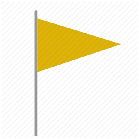 colored flags color flag signal triangle yellow icon