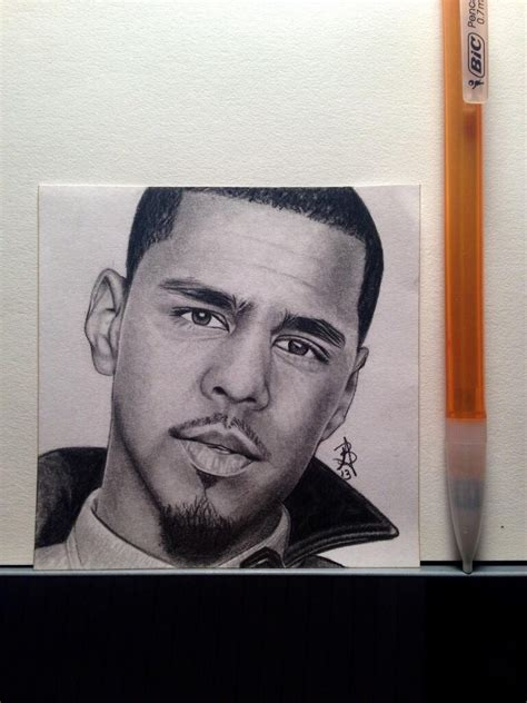 J Cole Sketches by J Cole Post It Drawing By Wega13 On Deviantart