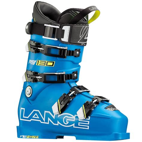 ski boots for wide lange rs 130 wide ski boots 2016 evo