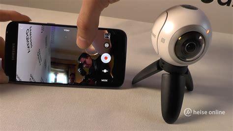 Kamera Samsung Gear on 360 176 kamera samsung gear 360 heise